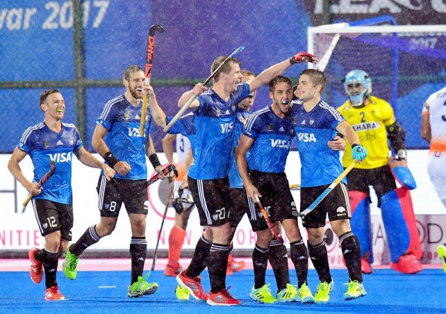 Los Leones rugieron ante India y se metieron en la final de la Liga Mundial