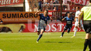 Lucas Gamba entre los mejores puntas del fútbol argentino