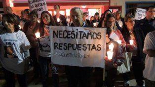 Pidieron Justicia. Tras la muerte, amigos y familiares realizaron marchas hacia el boliche On Club, donde se produjo el fallecimiento de Arri.
