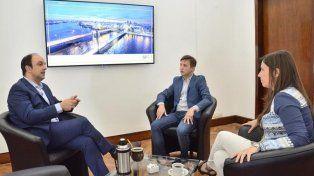 El presidente del Concejo se reunió con el intendente