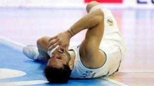 La lesión de Campazzo preocupó a todos en el Real Madrid