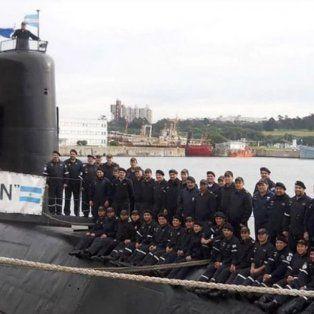 se conocio la ultima foto de la tripulacion completa del submarino