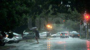 Emitieron un alerta meteorológico por tormentas fuertes