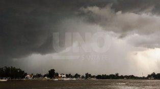 Rige un alerta meteorológico para el centro y norte de la provincia