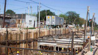 Avanzan dos obras hídricas que beneficiarán a más de 100.000 vecinos de Santa Fe