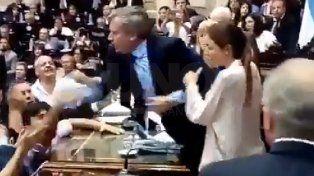 La violenta reacción de Emilió Monzó con Leopoldo Moreau