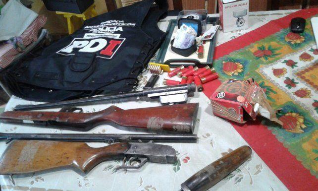 Narcomenudeo: apresaron a 11 vendedores en Rafaela y San Javier