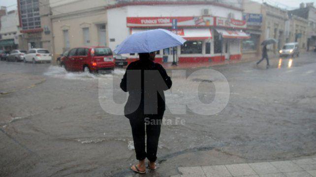 Emiten un aviso a corto plazo y un alerta meteorológico por tormentas fuertes para Santa Fe