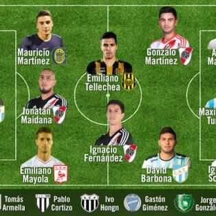 mauricio martinez integro el equipo ideal de la copa argentina