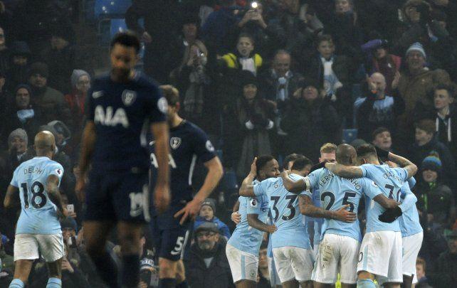 El City pisa rivales y es imbatible en la Premier League