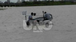 Hallaron los cuerpos de los dos adolescentes que se ahogaron en el río Salado