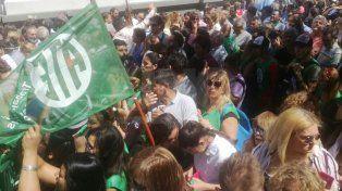 En Santa Fe también hubo movilizaciones y un acto en contra de la reforma previsional