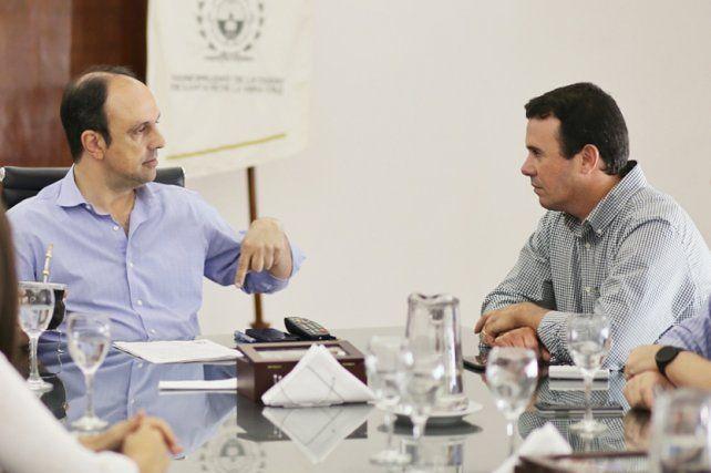 Crítico. El edil justicialista cuestionó al presidente municipal por su alineamiento con Macri.