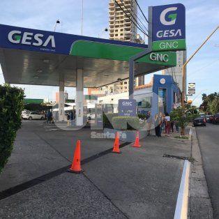 no se expende combustible en las estaciones de servicio