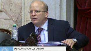 Contigiani cruzó al diputado Olmedo y a Cambiemos por no debatir las tarifas