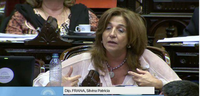 Frana: El oficialismo faltó a la verdad y no le dijo al pueblo que esta ley lo perjudicaba
