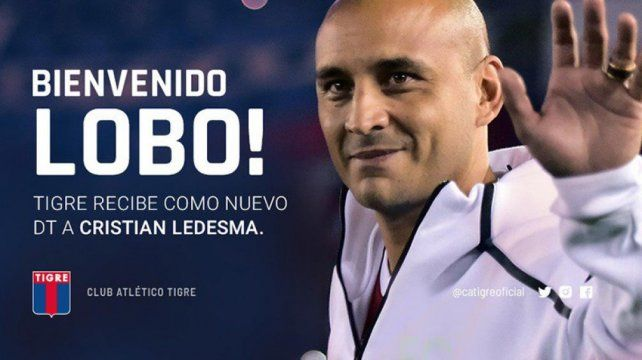 Tigre anunció a Ledesma como técnico