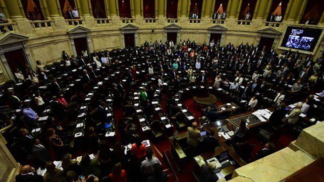 La Cámara de Diputados al conseguir el quórum