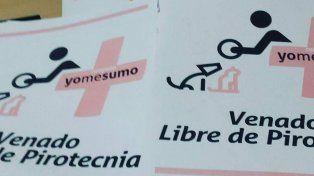 Un municipio santafesino lanzó  una original campaña antipirotecnia