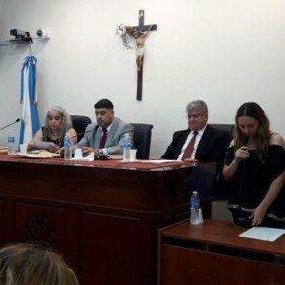 Tribunal. Estuvo integrado por los jueces Gonzalo Basualdo, Claudia Bressán e Ireneo Berzano.