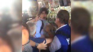 [Video] Casi linchan a Martín Lousteau en una manifestación