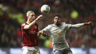 Inglaterra: El Bristol dio el batacazo ante Manchester United