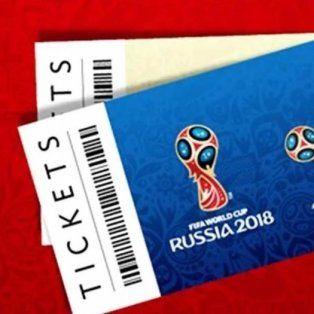 los argentinos, segundos en la lista de solicitantes de entradas para rusia 2018