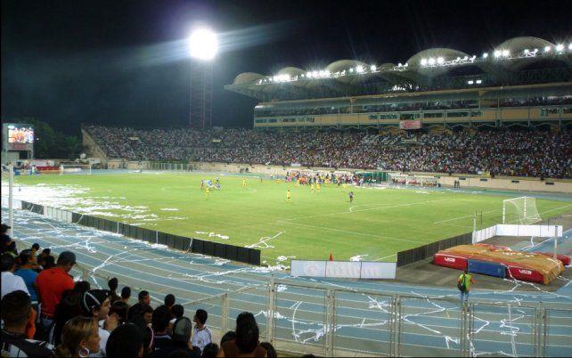 Conocé La Carolina, el estadio donde jugará Colón en Venezuela