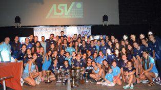 La ASV realizó la Fiesta de Premiación del cierre de temporada