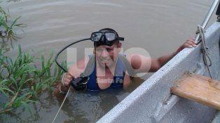Hallaron hundida en el arroyo Potreros la embarcación del matrimonio desaparecido