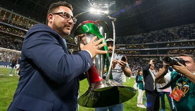 El Monterrey de Mohamed se coronó campeón de la Copa México