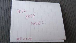 Papa Noel no le trajo lo que pidió y se lo recordó con esta carta