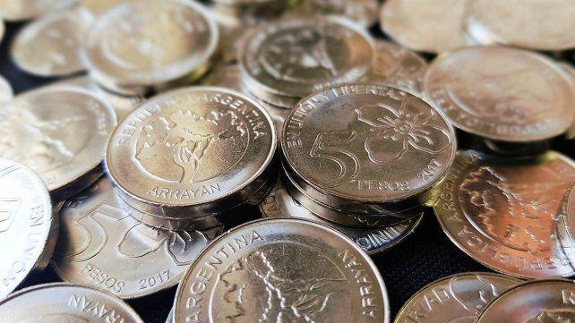 Argentina nuevas monedas de $1, $2, $5 y $10 con árboles  0022379225