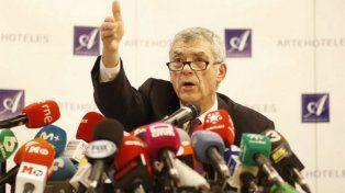 Destituyeron al presidente de la Federación Española de fútbol