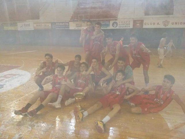 Unión ganó el Oficial U17 en el cierre de la actividad local