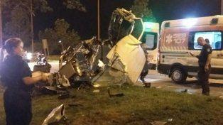 Impresionante choque en la ruta 168: destrozó la camioneta y ya fue dado de alta