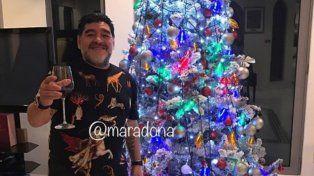 El mensaje navideño de Maradona con fuerte crítica