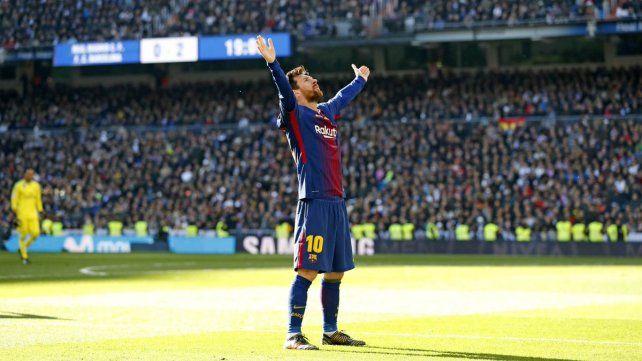 El video que muestra la furia de los hinchas del Real Madrid con Messi