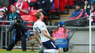 Kane superó a Messi y es el máximo goleador de 2017