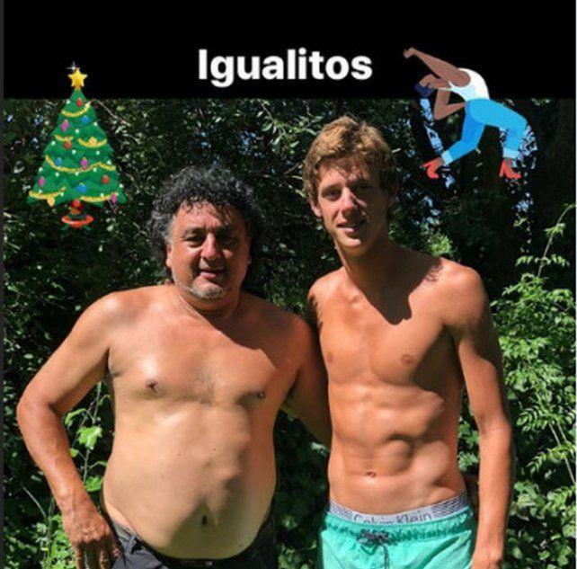 Así pasaron la Navidad los jugadores de Colón y Unión