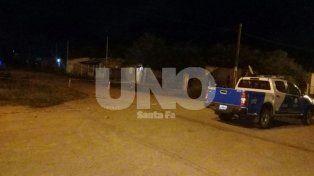 El homicidio ocurrió este lunes a las 20 en el barrio Los Bretes de Tostado