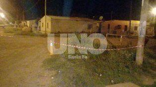 El lugar del hecho. El homicidio tuvo lugar en la esquina de Perú y Patagones de Tostado.