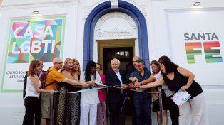 Lifschitz inauguró la Casa LGBTI en la ciudad de Santa Fe