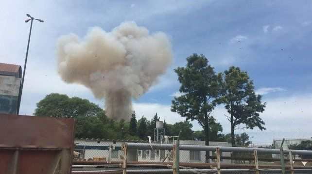 Videos: así fue la reacción de los operarios de la cerealera durante la explosión