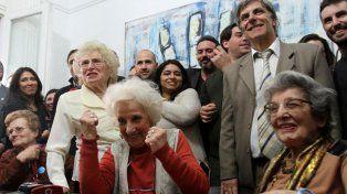 Abuelas de Plaza de Mayo anunciaron la recuperación de la nieta 127