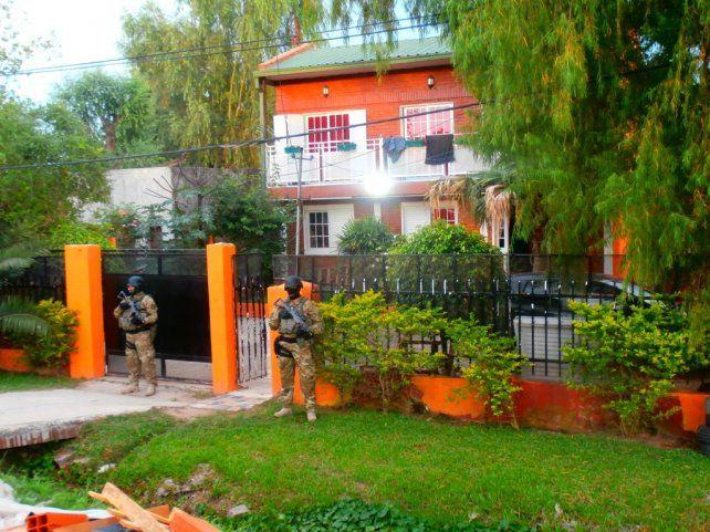 Secuestro. La camioneta fue secuestrada en la vivienda donde residía Villarroel