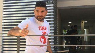 No es fácil estar en un club como Central, dijo Ortigoza tras la revisión médica