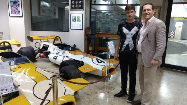 Ian Reutemann presentó su proyecto en Capital Federal