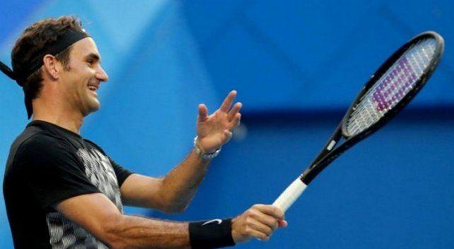 Roger Federer debutó con un claro triunfo en la Copa Hopman
