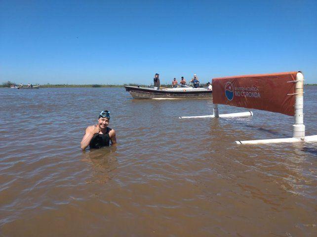 Una debutante en el Río Coronda